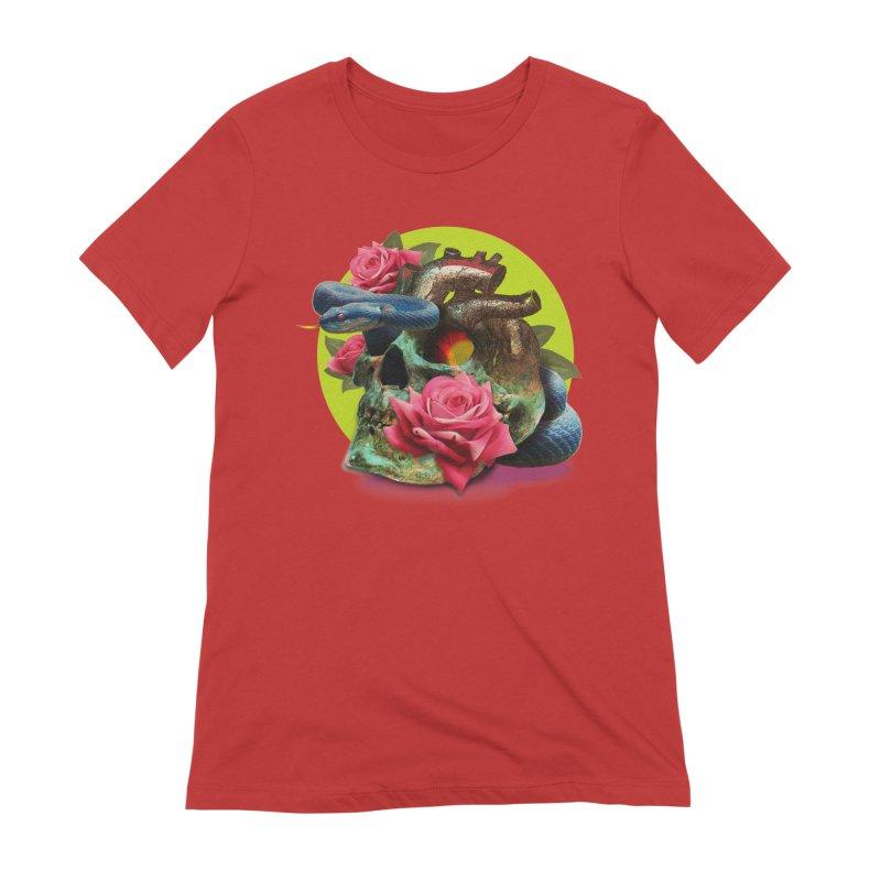 wild think Women's Extra Soft T-Shirt by okik's Artist Shop