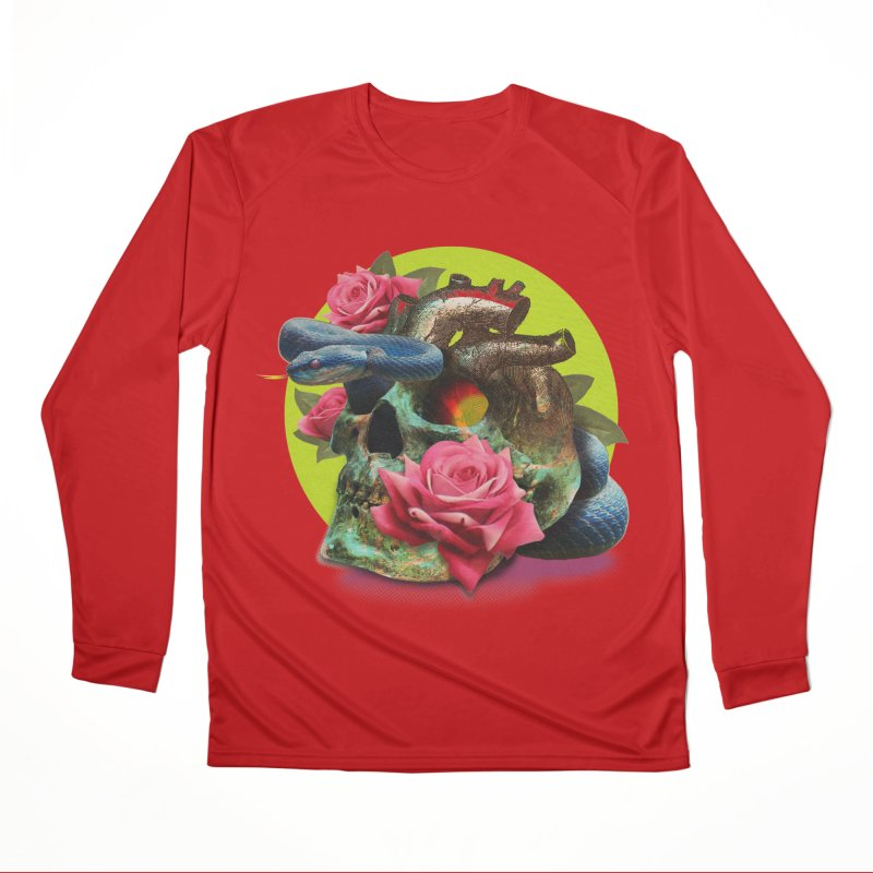 wild think Men's Performance Longsleeve T-Shirt by okik's Artist Shop