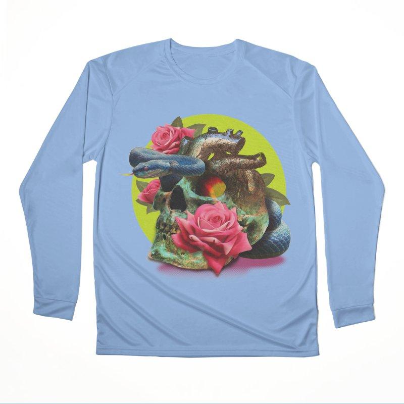 wild think Women's Longsleeve T-Shirt by okik's Artist Shop