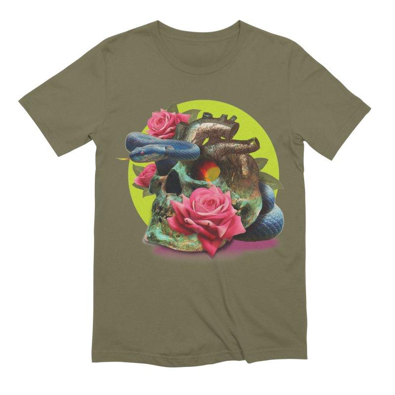 wild think Men's Extra Soft T-Shirt by okik's Artist Shop