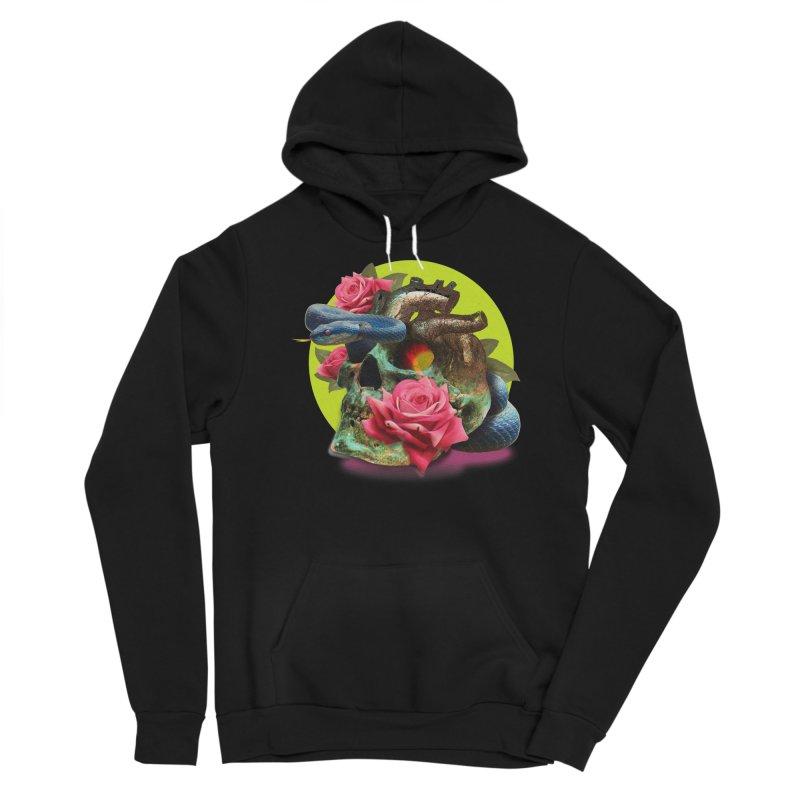 wild think Men's Sponge Fleece Pullover Hoody by okik's Artist Shop