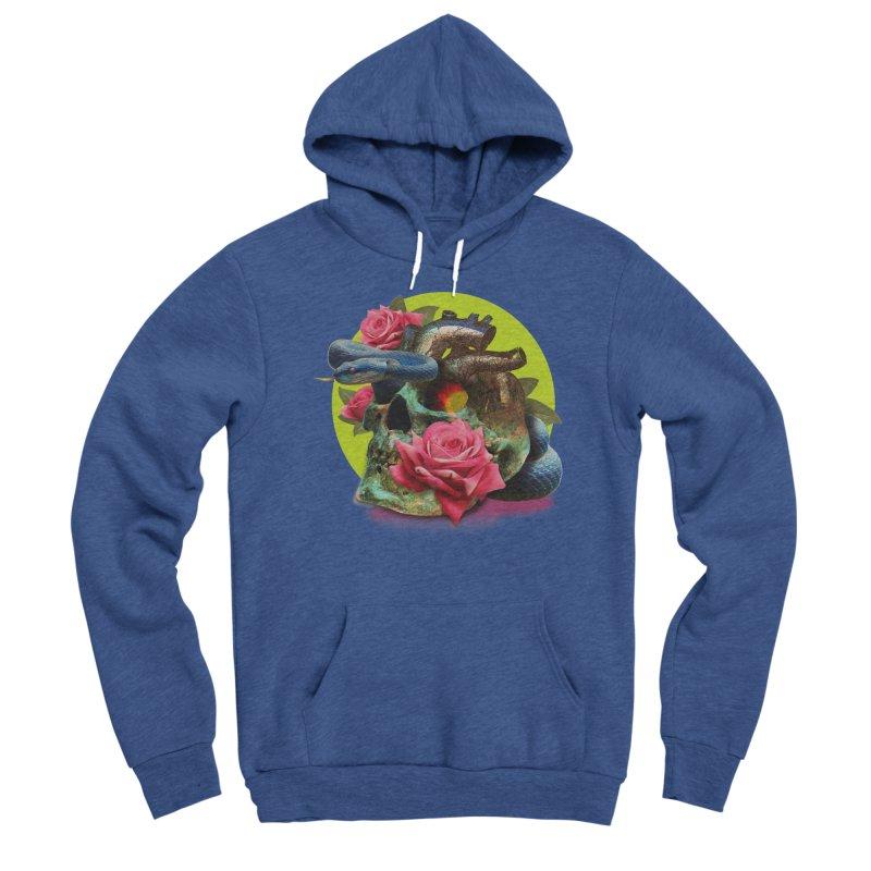 wild think Women's Sponge Fleece Pullover Hoody by okik's Artist Shop