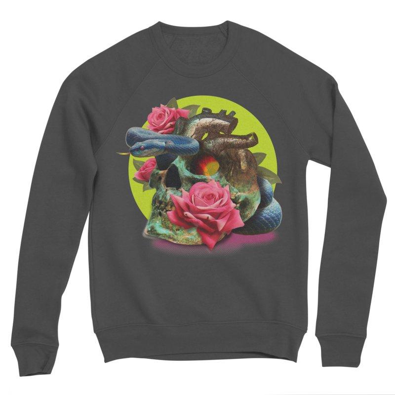 wild think Men's Sponge Fleece Sweatshirt by okik's Artist Shop