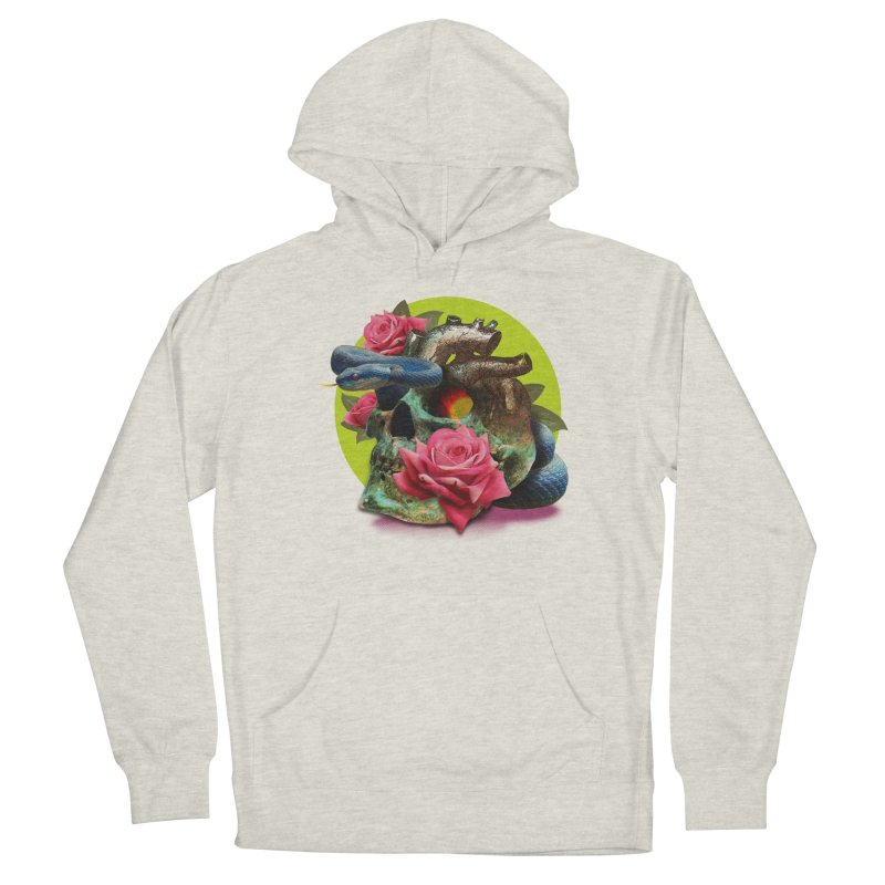 wild think Men's French Terry Pullover Hoody by okik's Artist Shop