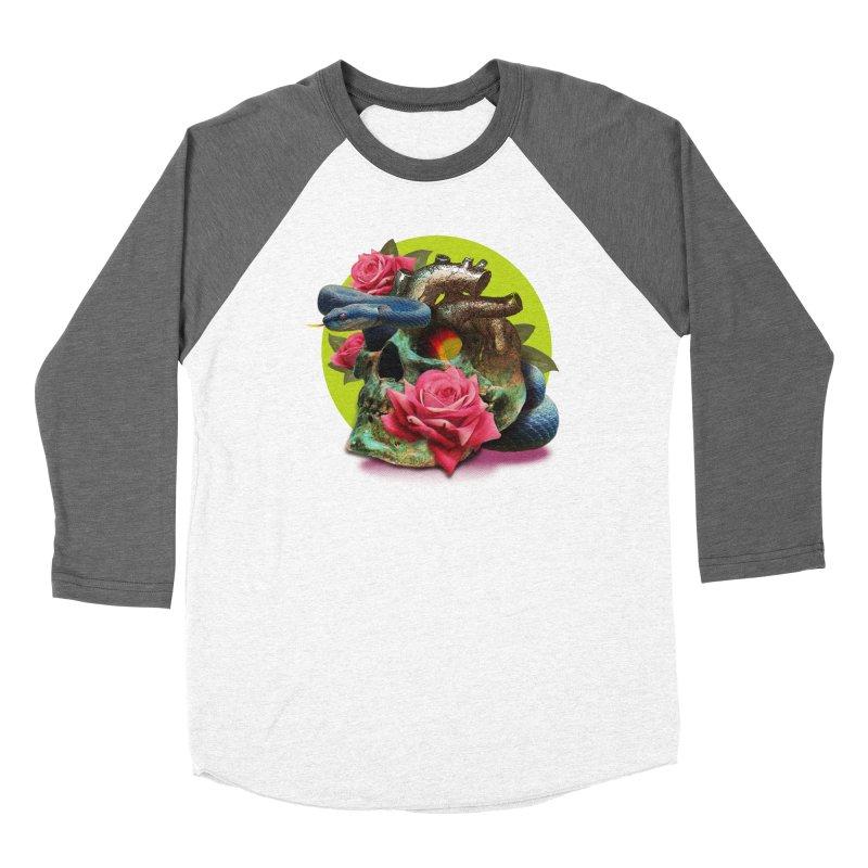 wild think Men's Baseball Triblend Longsleeve T-Shirt by okik's Artist Shop