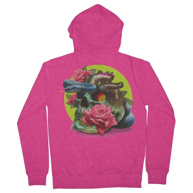 wild think Women's French Terry Zip-Up Hoody by okik's Artist Shop
