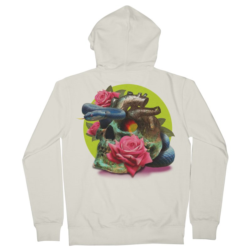 wild think Men's French Terry Zip-Up Hoody by okik's Artist Shop