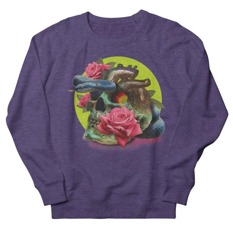 wild think Men's French Terry Sweatshirt by okik's Artist Shop