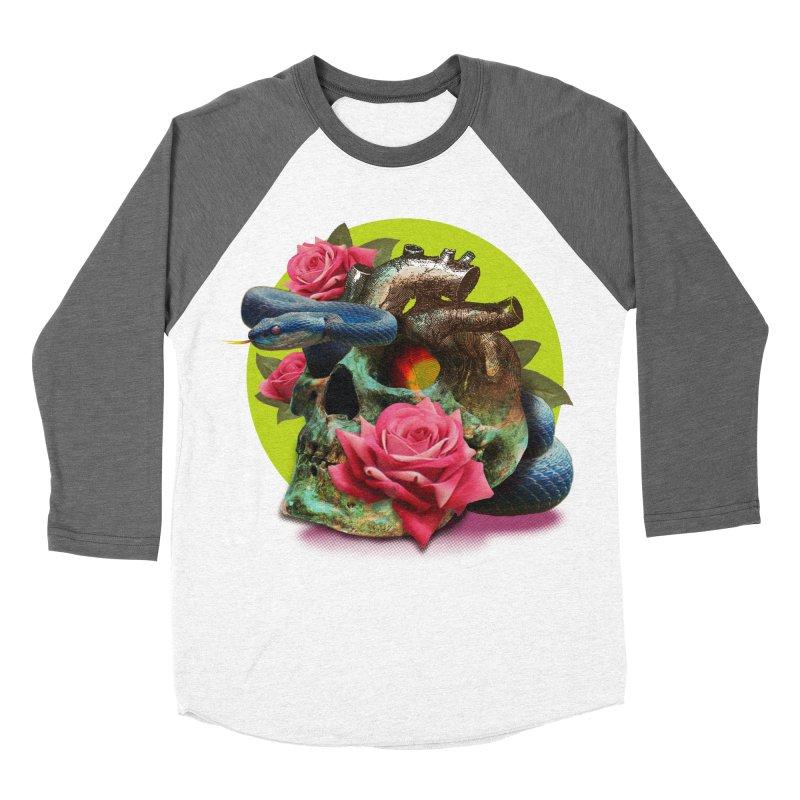 wild think Women's Baseball Triblend Longsleeve T-Shirt by okik's Artist Shop
