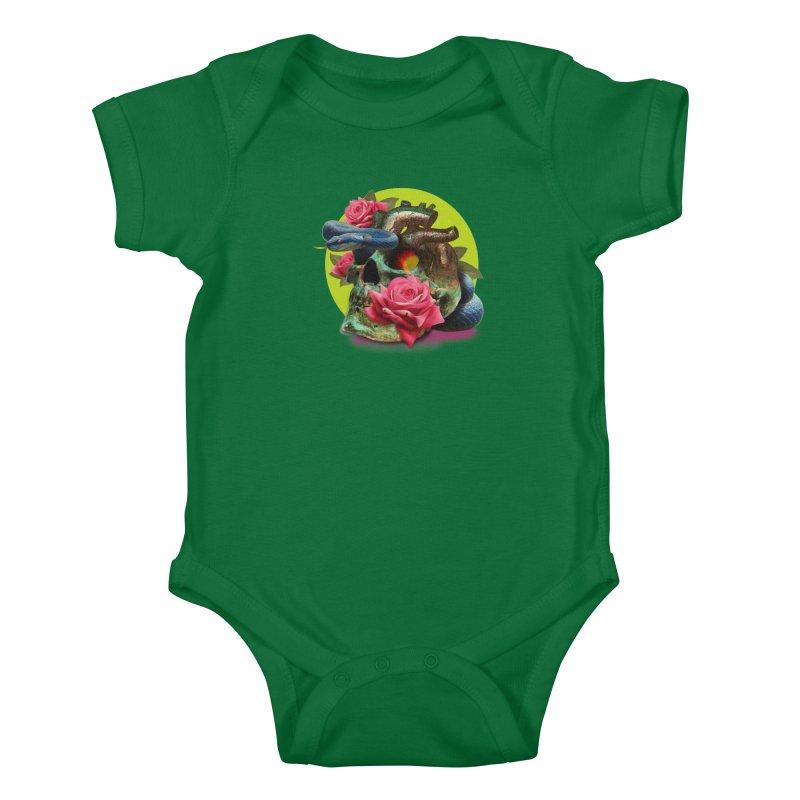 wild think Kids Baby Bodysuit by okik's Artist Shop