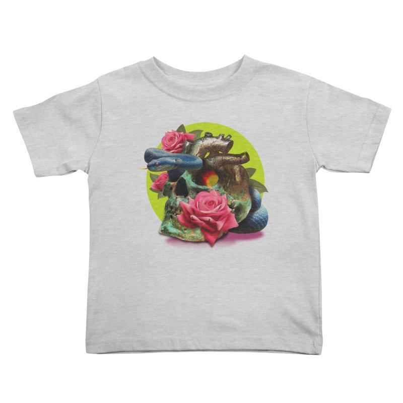 wild think Kids Toddler T-Shirt by okik's Artist Shop