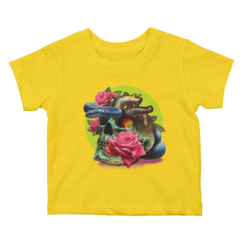wild think Kids Baby T-Shirt by okik's Artist Shop