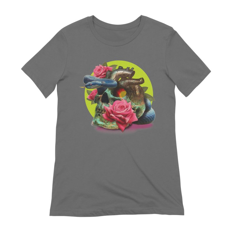 wild think Women's T-Shirt by okik's Artist Shop