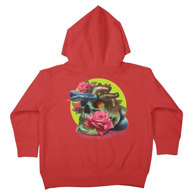 wild think Kids Toddler Zip-Up Hoody by okik's Artist Shop