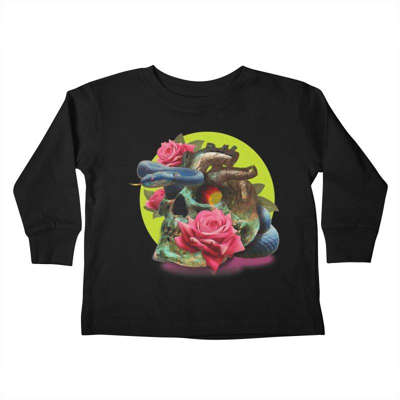 wild think Kids Toddler Longsleeve T-Shirt by okik's Artist Shop