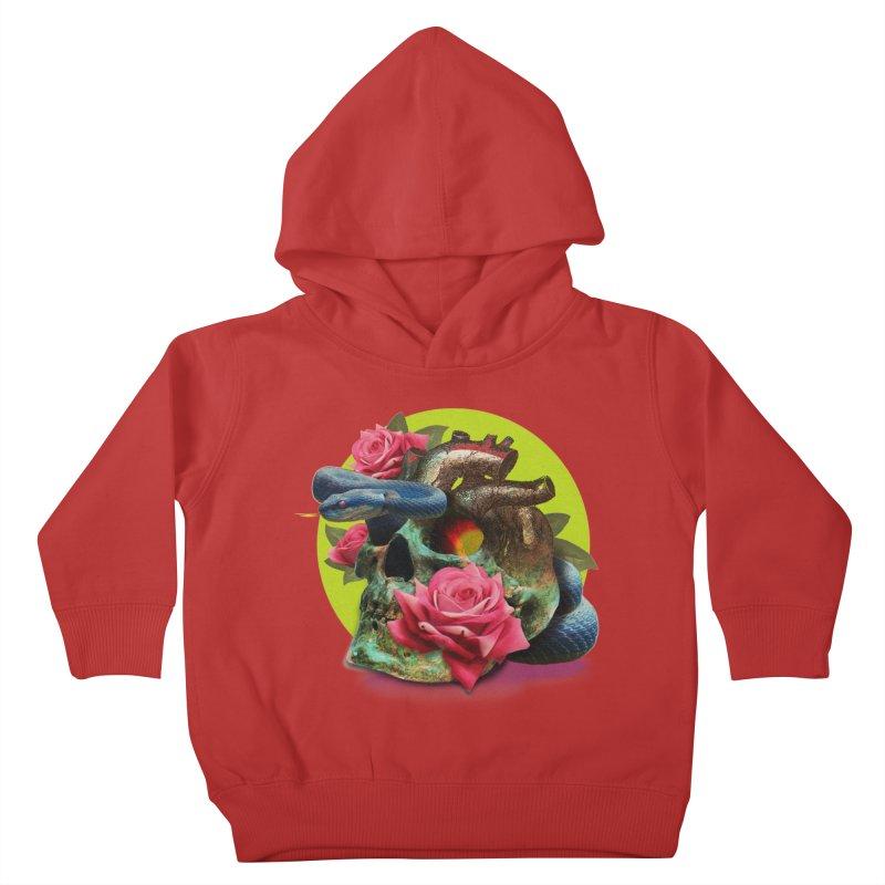 wild think Kids Toddler Pullover Hoody by okik's Artist Shop