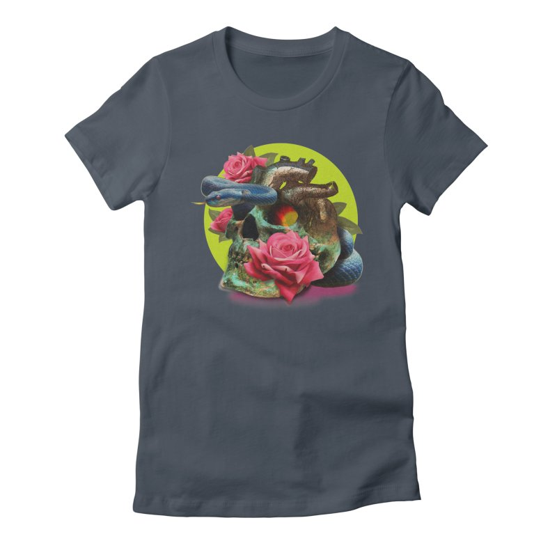 wild think Women's T-Shirt by okik's Artist Shop