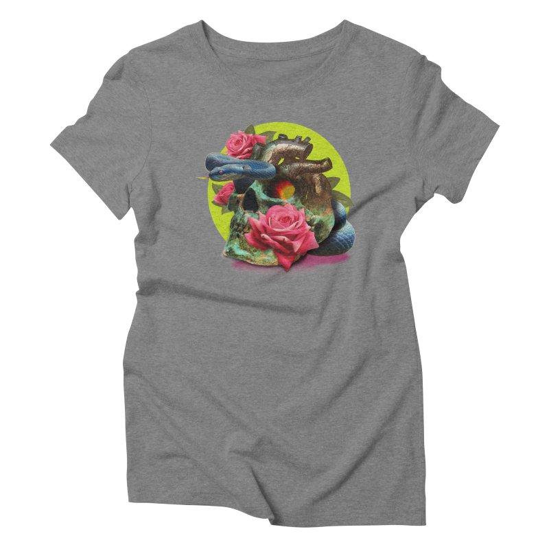 wild think Women's Triblend T-Shirt by okik's Artist Shop