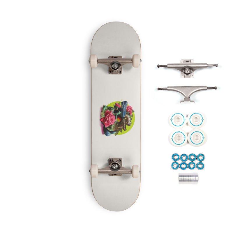 wild think Accessories Complete - Basic Skateboard by okik's Artist Shop