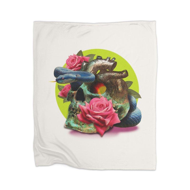 wild think Home Blanket by okik's Artist Shop