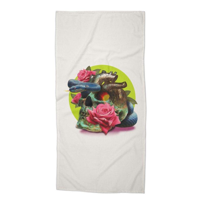wild think Accessories Beach Towel by okik's Artist Shop