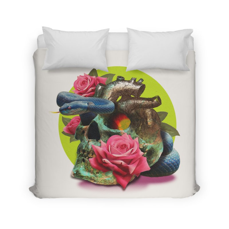 wild think Home Duvet by okik's Artist Shop