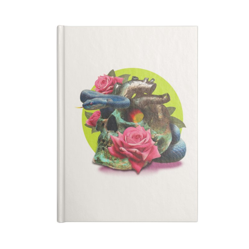 wild think Accessories Lined Journal Notebook by okik's Artist Shop