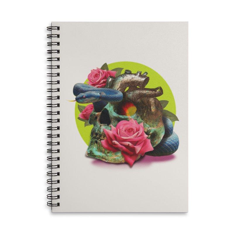 wild think Accessories Lined Spiral Notebook by okik's Artist Shop