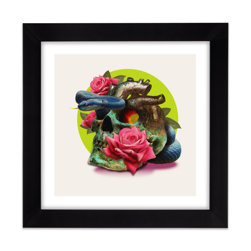 wild think Home Framed Fine Art Print by okik's Artist Shop