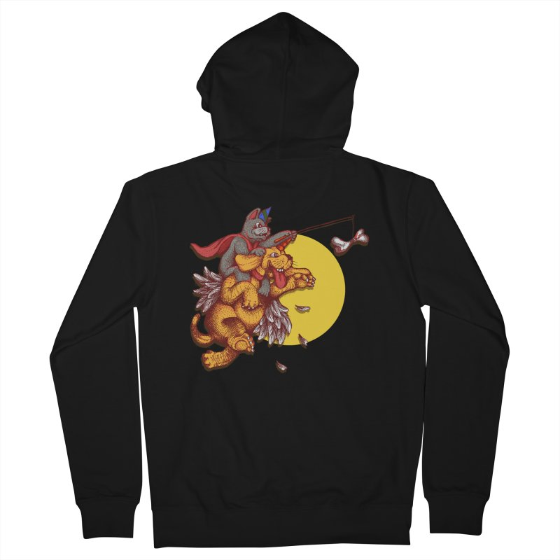 soo close yet sooo far Men's Zip-Up Hoody by okik's Artist Shop