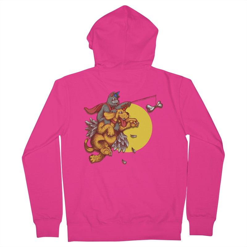 soo close yet sooo far Men's Zip-Up Hoody by okik's Artist Shop