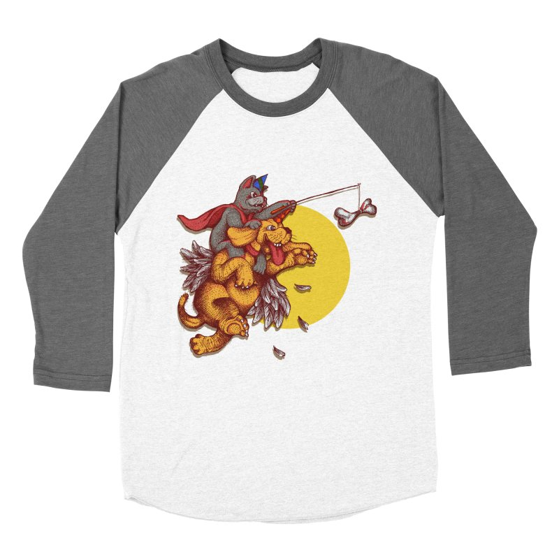 soo close yet sooo far Women's Baseball Triblend T-Shirt by okik's Artist Shop