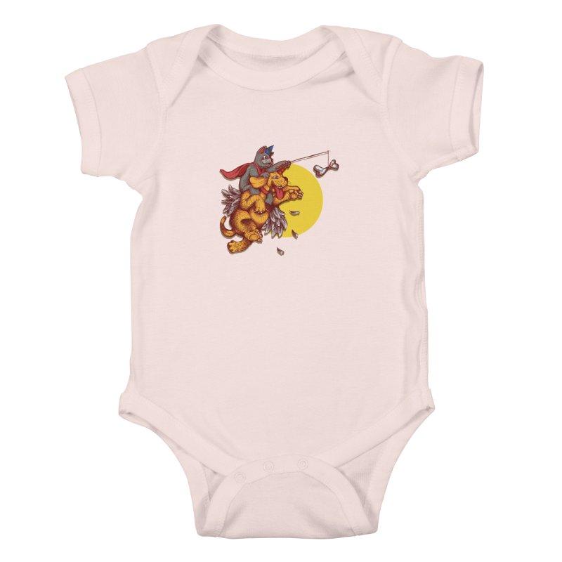 soo close yet sooo far Kids Baby Bodysuit by okik's Artist Shop