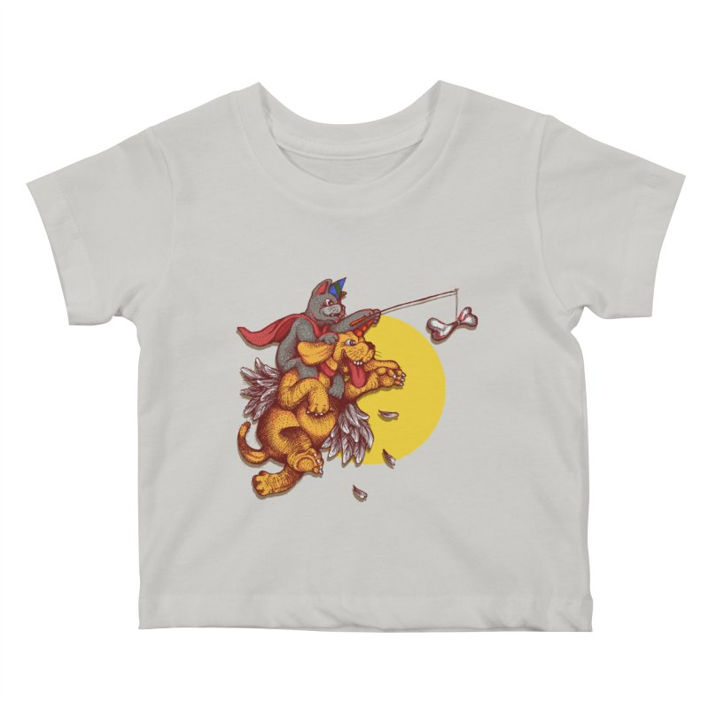 soo close yet sooo far Kids Baby T-Shirt by okik's Artist Shop
