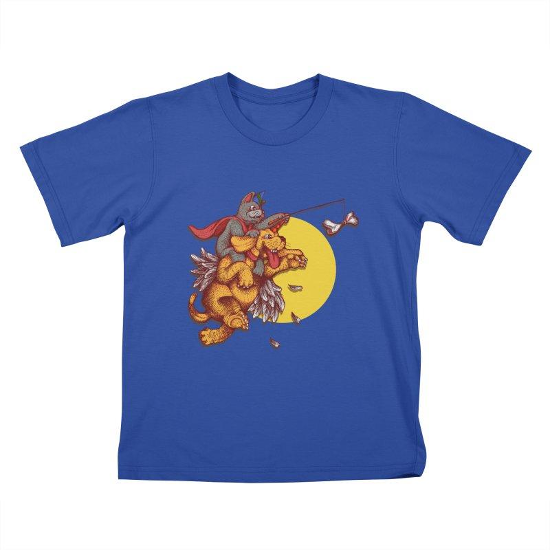 soo close yet sooo far Kids T-Shirt by okik's Artist Shop