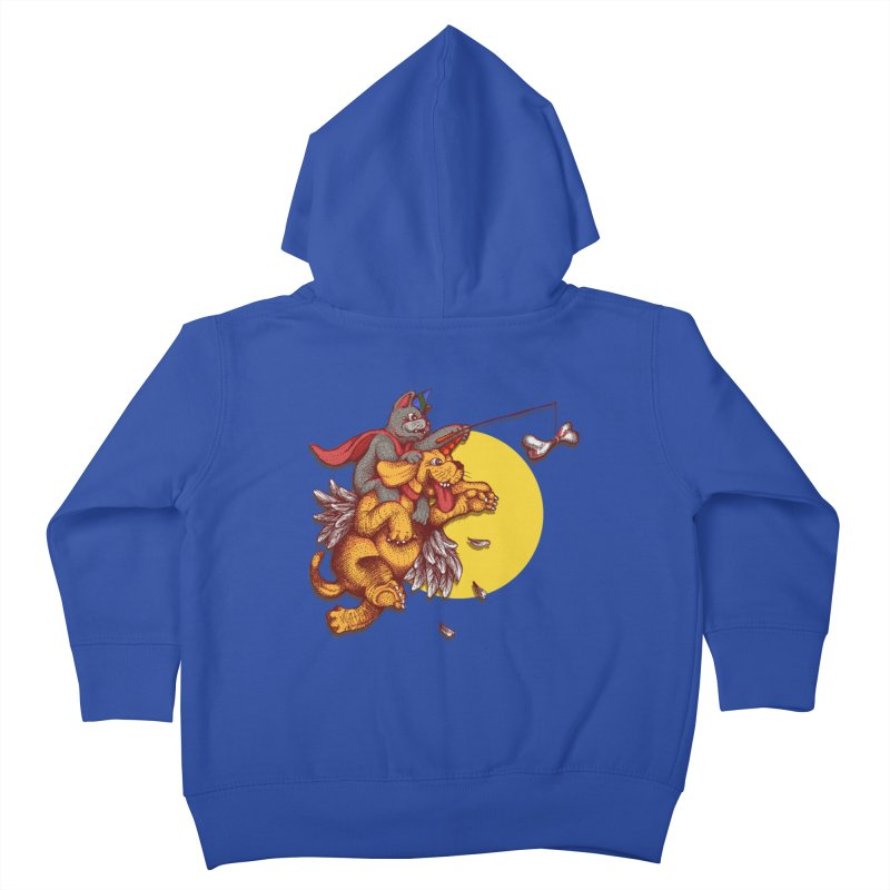 soo close yet sooo far Kids Toddler Zip-Up Hoody by okik's Artist Shop