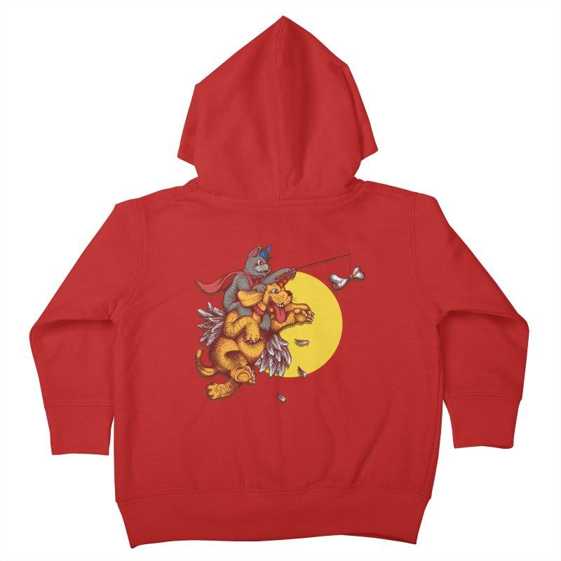 soo close yet sooo far Kids Toddler Zip-Up Hoody by okik's Artist Shop