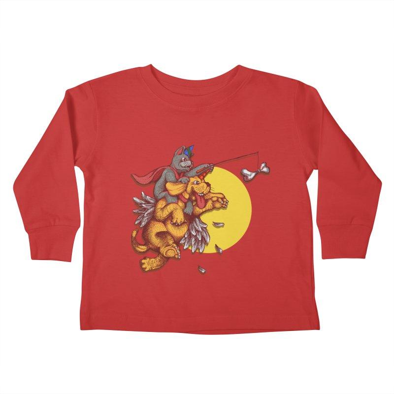 soo close yet sooo far Kids Toddler Longsleeve T-Shirt by okik's Artist Shop