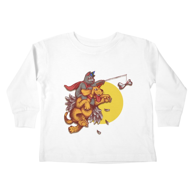 soo close yet sooo far Kids Toddler Longsleeve T-Shirt by okik's Artist Shop