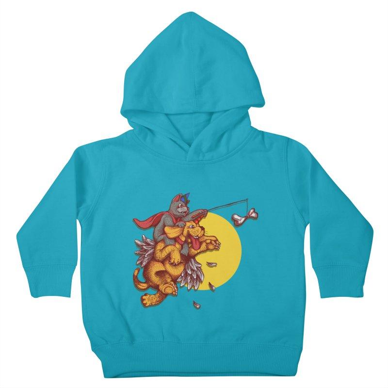 soo close yet sooo far Kids Toddler Pullover Hoody by okik's Artist Shop