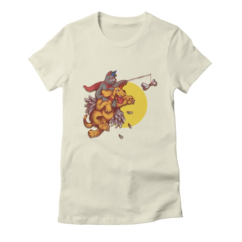 soo close yet sooo far Women's Fitted T-Shirt by okik's Artist Shop