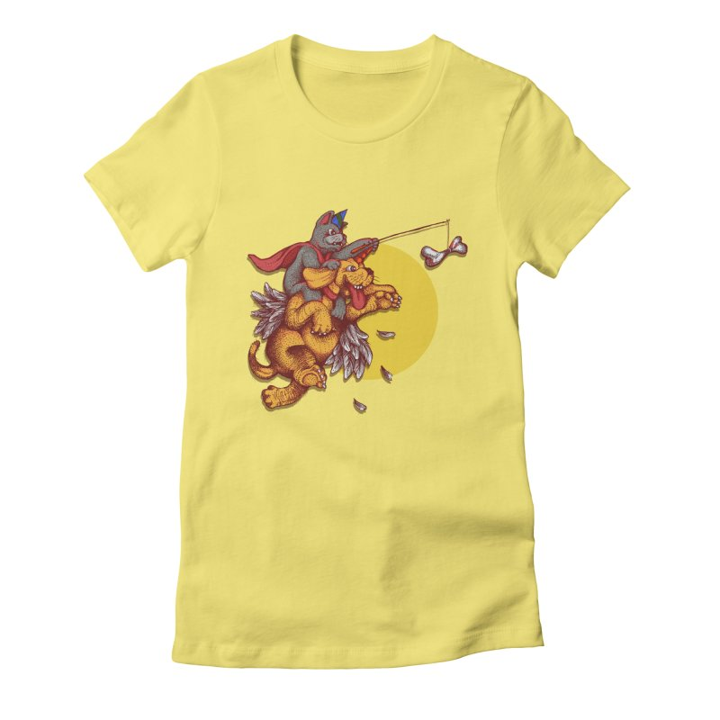 soo close yet sooo far Women's Fitted T-Shirt by okik's Artist Shop