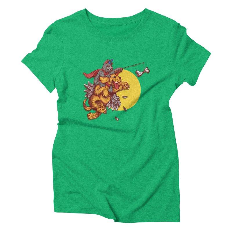 soo close yet sooo far Women's Triblend T-shirt by okik's Artist Shop
