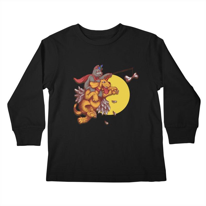 soo close yet sooo far Kids Longsleeve T-Shirt by okik's Artist Shop