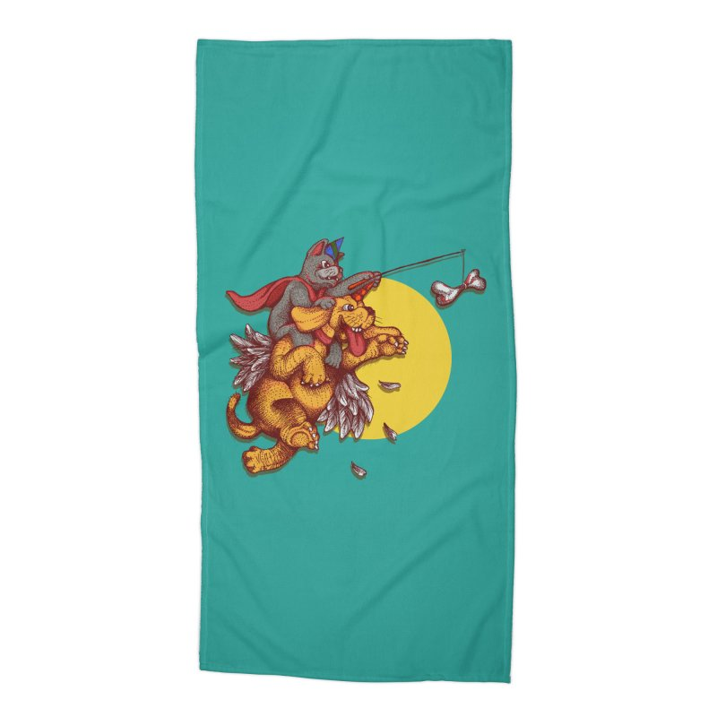 soo close yet sooo far Accessories Beach Towel by okik's Artist Shop