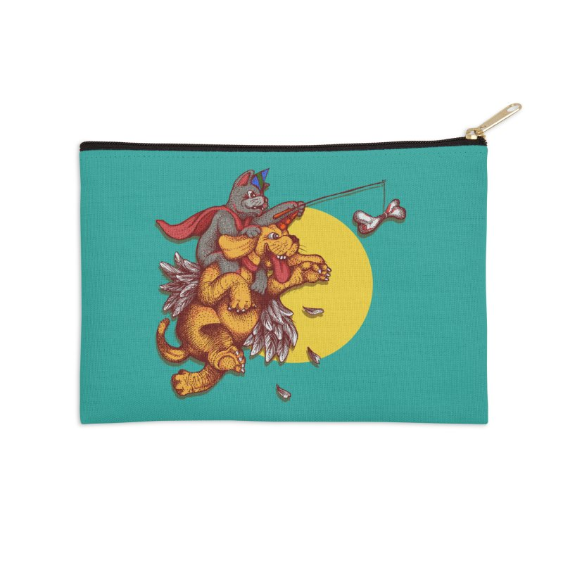 soo close yet sooo far Accessories Zip Pouch by okik's Artist Shop