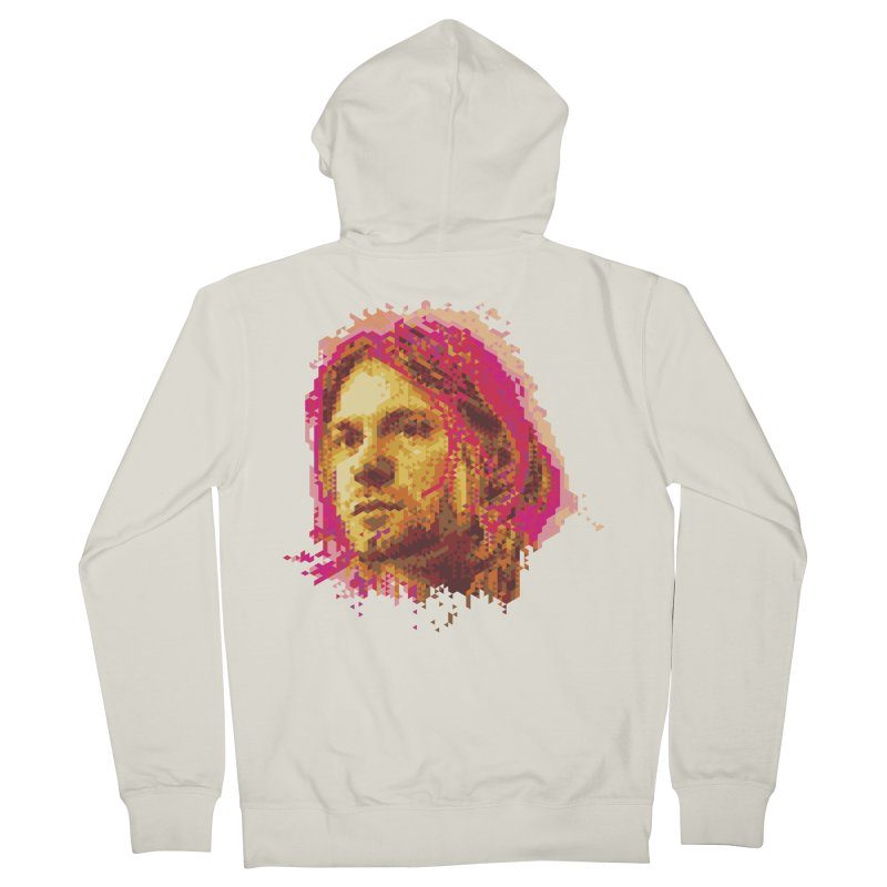 teen spirit Men's Zip-Up Hoody by okik's Artist Shop
