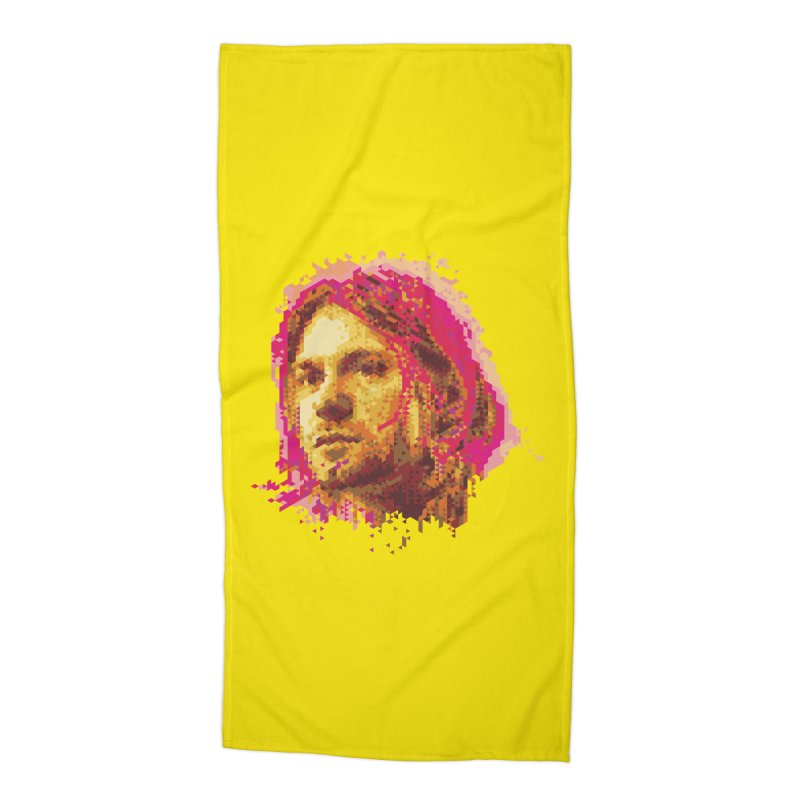teen spirit Accessories Beach Towel by okik's Artist Shop