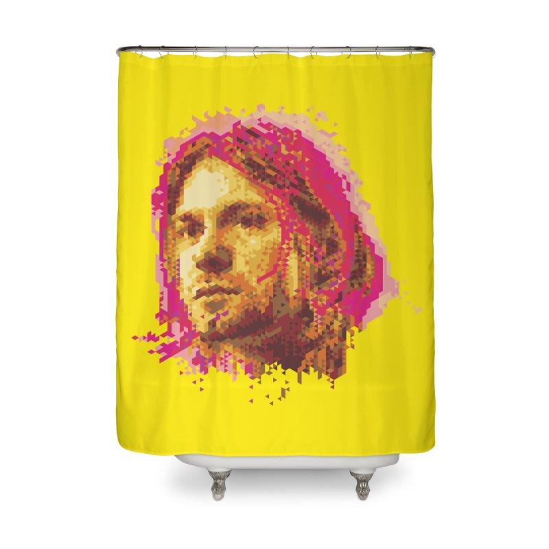 teen spirit Home Shower Curtain by okik's Artist Shop