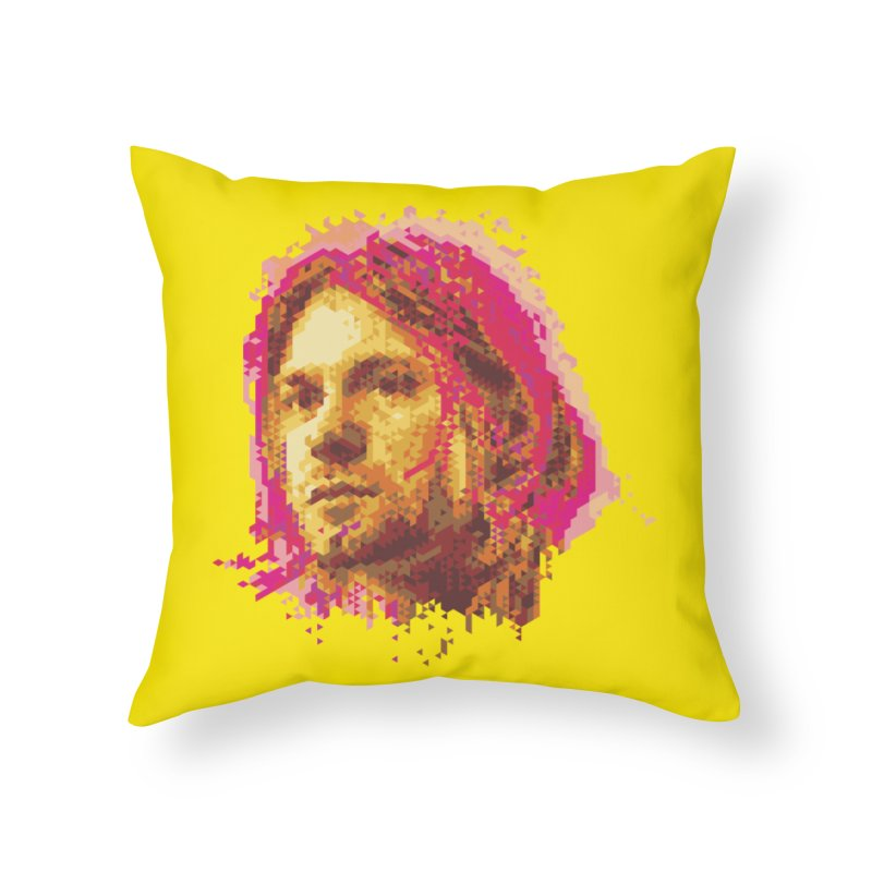teen spirit Home Throw Pillow by okik's Artist Shop